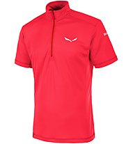 Salewa Agner PTC - T-shirt trekking - uomo, Red