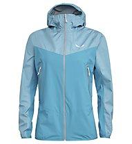 Salewa Agner PTX 3L - giacca hardshell con cappuccio - donna, Light Blue