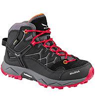 Salewa Alp Trainer Mid GTX - scarpe da trekking - bambino, Black/Red