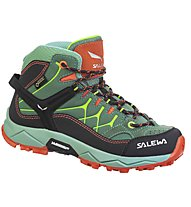 Salewa Alp Trainer Mid GORE-TEX - Wander- und Trekkingschuh - Kinder, Green/Orange