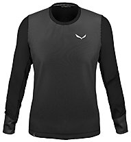 Salewa Alpine Hemp Print M - sweatshirt - uomo, Black