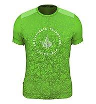 Salewa Alpine Hemp Print M S/S - T-shirt - uomo, Light Green