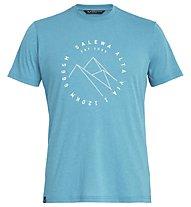 Salewa Alta Via Dri-Rel - T-Shirt Trekking - Herren, Light Blue
