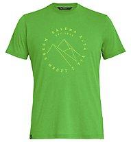 Salewa Alta Via Dri-Rel - T-Shirt Trekking - Herren, Green