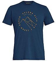 Salewa Alta Via Dri-Rel - T-Shirt Trekking - Herren, Blue