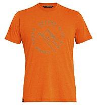 Salewa Alta Via Dri-Rel - T-Shirt Trekking - Herren, Orange