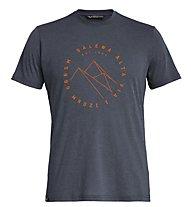 Salewa Alta Via Dri-Rel - T-Shirt Trekking - Herren, Dark Blue/Orange