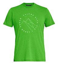 Salewa Alta Via Dri-Rel - T-Shirt Trekking - Herren, Light Green