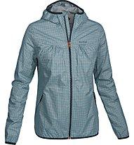 Salewa Ambiez Powertex - giacca hardshell trekking - donna, Blue