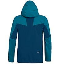 Salewa Antelao PTX 3L - giacca hardshell alpinismo - uomo, Light Blue/Blue/Green