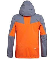 Salewa Antelao PTX 3L - giacca hardshell alpinismo - uomo, Grey/Orange