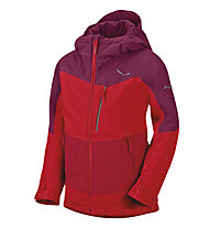 Salewa Antelao PTX/PF K - Giacca sportiva scialpinismo - bambino, Red