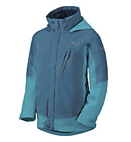 Salewa Antelao PTX/PL K 2X Kinder-Winterjacke, Light Blue