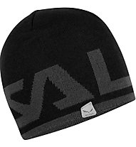 Salewa Antelao Reversible - Wollmütze Skitouren, Black