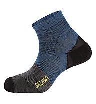 Salewa Approach Comfort SK - calzini corti, Blue