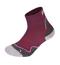 Salewa Approach Short Kid Socks - Calzini Corti, Raspberry