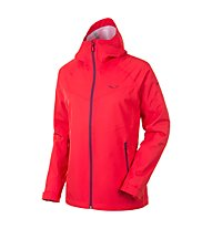 Salewa Aqua 3.0 Powertex Jacke Damen, Light Red