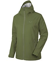 Salewa Aqua 3.0 Powertex Jacke Damen, Green