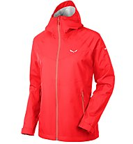 Salewa Aqua 3.0 Powertex Jacke Damen, Red