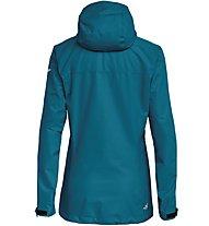 Salewa Aqua 3.0 - giacca hardshell trekking - donna, Azure