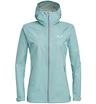Salewa Aqua 3.0 Powertex - Wander - und Trekkingjacke - Damen, Light Blue/Grey