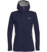 Salewa Aqua 3.0 Powertex - Wander - und Trekkingjacke - Damen, Dark Blue/Light Red