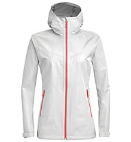 Salewa Aqua 3.0 - giacca hardshell - donna, White/Red