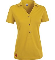 Salewa Ario Dry'ton maglietta Polo trekking donna, Nugget Gold