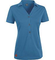 Salewa Ario - Poloshirt Wandern - Damen, Blue