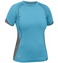Salewa Baghirati Dry'ton - T-shirt alpinismo - donna, Light Blue
