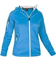 Salewa Bare Rock - giacca pile trekking - donna, Blue