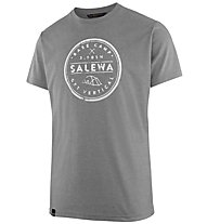 Salewa Base Camp Dri-Release - T-Shirt Bergsport - Herren, Grey