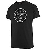 Salewa Base Camp Dri-Release - T-shirt trekking - uomo, Black
