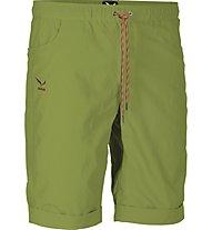 Salewa Boogalagga Dry'ton - pantaloni corti arrampicata - uomo, Basilico