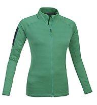 Salewa Bow giacca pile donna, Green