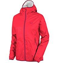 Salewa Braies RTC giacca antipioggia donna, Red
