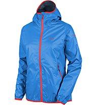 Salewa Braies RTC giacca antipioggia donna, Blue