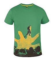 Salewa Callforhero T-shirt arrampicata, Kashmir Green