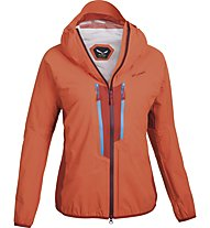Salewa Camalot 3.0 Powertex - giacca hardshell trekking - donna, Orange