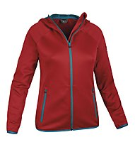 Salewa Castor PL - Giacca in pile trekking - donna, Red