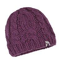 Salewa Chunky Knit Beanie, Violet