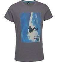 Salewa Crevasse T-shirt tempo libero, Magnet
