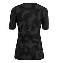 Salewa Cristallo Warm AMR - maglietta tecnica - donna, Black/Grey