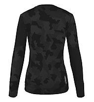 Salewa Cristallo Warm AMR - Funktionsshirt Langarm - Damen, Black/Grey