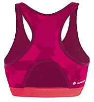 Salewa Cristallo Warm AMR - reggiseno sportivo a basso sostegno - donna, Pink