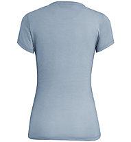 Salewa Crosswords Dri-Rel - T-shirt - donna, Light Blue