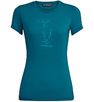 Salewa Deer Dri-Release - T-Shirt Bergsport - Damen, Light Blue