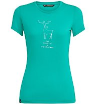 Salewa Deer Dri-Release - T-shirt trekking - donna, Azure
