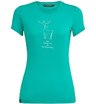 Salewa Deer Dri-Release - T-Shirt Bergsport - Damen, Azure