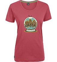 Salewa Demuth - T-Shirt trekking - donna, Red